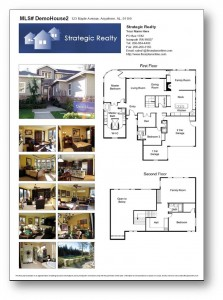 Sell my philly suburb home with in law suite for Floor plans for real estate marketing